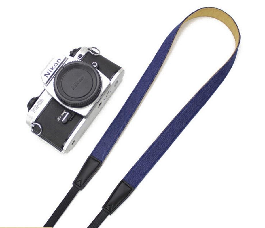 Mirrorless cámara de sistema Denim cinturón Flexible correas para cámaras Canon Sony A7M3/A7III/A7R3/A9/A7M2/A7R2/A7S2/A7