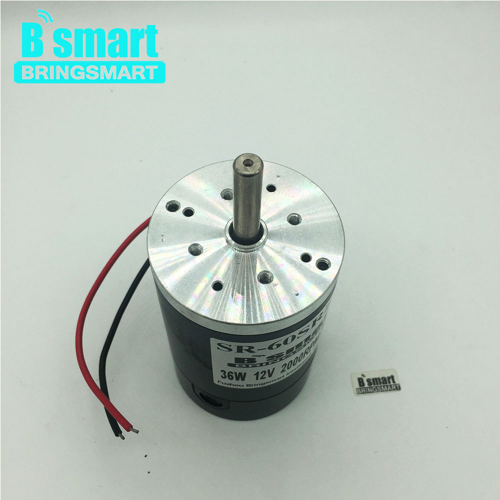 Electric Motor DC 12V 24V Permanent Magnet With High Speed 2000 4000RPM Reversed For Marshmallow Motor Cutting Machine