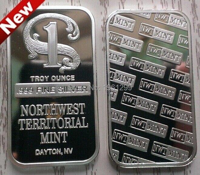 Nwt 1 Oz 999 Fine Silver Bar