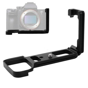 Image 2 - Quick Release L Plate Bracket Holder Hand Grip for Sony Alpha A9 / A7 III / A7R III A7M3 A7RM3 Camera for Arca Swiss Tripod Head