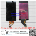 Best quality original guarantee For Sony Xperia Z1 Mini M51w D5503 LCD display+Touch screen Panel Digitizer,in stock!