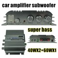 Super white 2.1 Canales Estéreo Mini Amplificador Del Coche Amplificador De Subwoofer de Audio del Ordenador super bass mejor calidad venta Hi-Fi