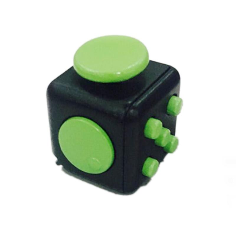 nios inquietos cubo de juguete de escritorio de vinilo cubos mgicos alivio del