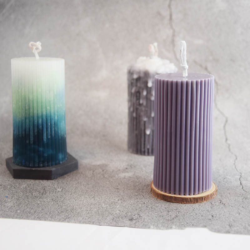 8 Petal SCALLOP Candle Mold 4 inches x 5-1//2 inches Tall