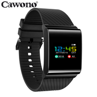 Cawono IP67 Waterproof X9 Pro OLED Color Screen Fitness Tracker Heart Rate Monitor Pedometer Smart Wristband