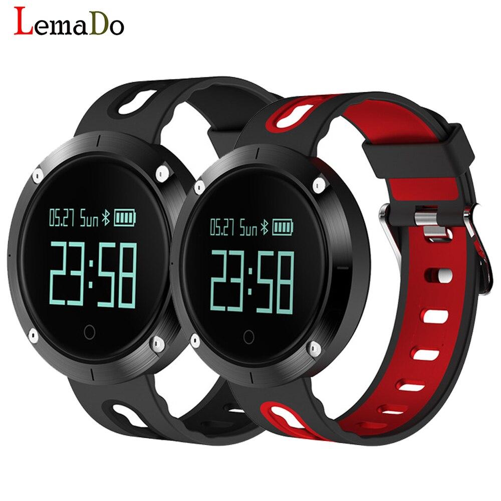Lemado Bluetooth T1 Smart Bracelet Heart Rate Monitor Waterproof Smart Wristband Call SMS SNS Alert Activity