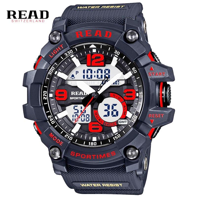 Μόδα στρατιωτική LED ψηφιακή ρολόι - Ανδρικά ρολόγια