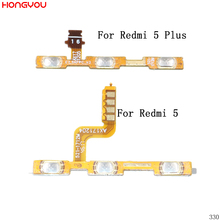 Power Button On / Off Volume Mute Switch Button Flex Cable For Xiaomi Redmi 5 Plus цена