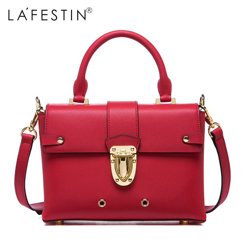LAFESTIN 2017 Fashion Doctor Handbags Women Designer Real Leather bags Shoulder Lock Luxury Totes Multifunction brands Bag bolsa lafestin luxury shoulder women handbag genuine leather bag 2017 fashion designer totes bags brands women bag bolsa female