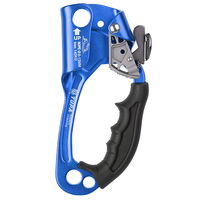 Left Right Rock Climbing Hand Ascender Riser For 8 12mm Rope Hand Grasp Ascender Rescue Caving Mountaineering Tree Climber Equip