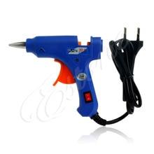 New 20W Electric EU Plug SD-E Hot Stick Heater Trigger Repair Tool Melt Glue Gun 20w electric repair trigger art tool heating gun hot glue us eu