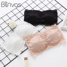 Blinvas Bra Wireless Push Up Bra Lingerie Bras for Women Bras Lace Bralette BH Strapless Invisible Seamless Sexy Bralette(China)