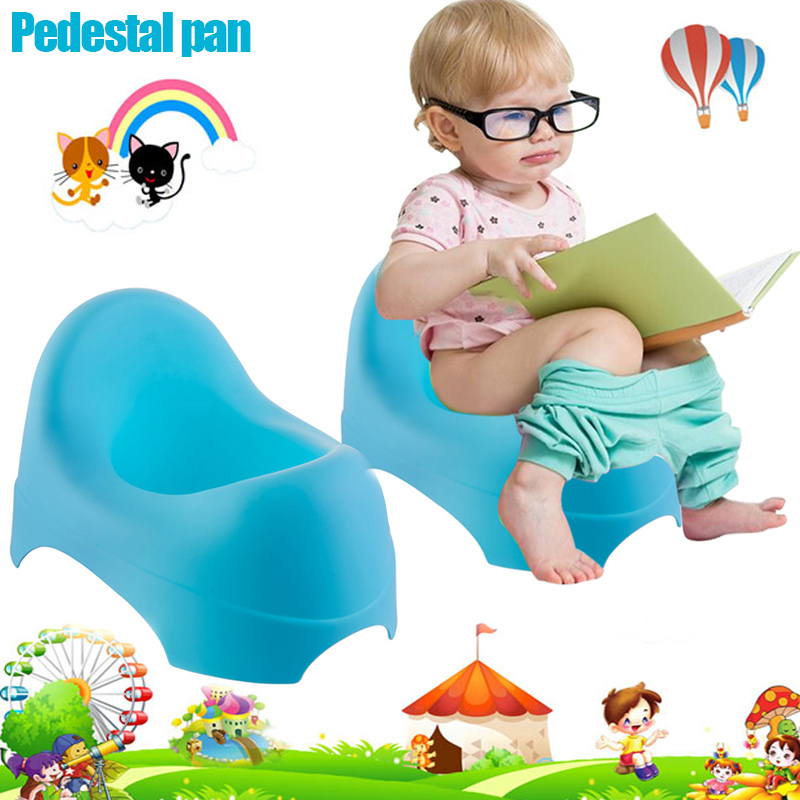 Portable Baby Kids Potty Trainer Toilet Seat Chair Pot Pedestal Pan Toilets 0-3 Years @ZJF
