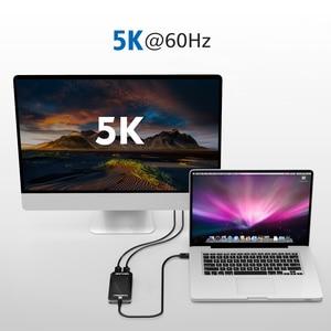 Image 5 - サンダーボルト 3 アダプタデュアル HDMI ディスプレイアダプタスプリッタタイプ c usb c ハブ 40 5gbps 4 18K Displayport HDMI 1080 1080p ビデオスプリッタハブ