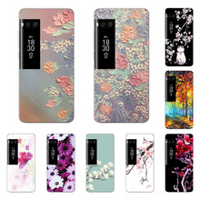 Meizu pro 7 Case,Silicon Full flower Painting Soft TPU Back Cover for Meizu pro 7 Phone bags