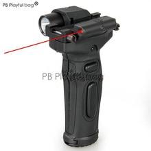 PB PlayfulOutdoor полевое оборудование тактический фонарь многоцелевой направляющий рельс высокий свет светодиодный лампа ручной красный лазерный игрушечный пистолет RD04