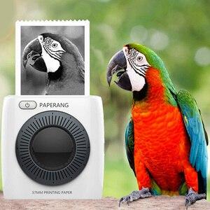 Image 2 - PAPERANG P2 כיס נייד Bluetooth מיני מדפסת טלפון תמונה 300id HD תרמית תווית מדפסת עבור iOS אנדרואיד Windows 1000 mAh