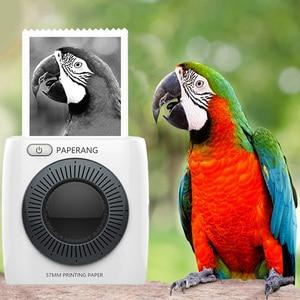 Image 2 - Paperang P2 ポケットポータブル bluetooth ミニ電話写真 300id hd 熱ラベルプリンタ ios のアンドロイド windows の 1000 mah