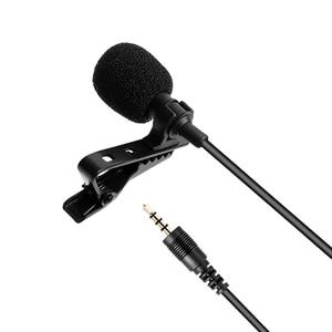 Image 5 - MAONO Lavalier Microphone Mini Portable Microphone Condenser Clip on Lapel Mic Wired Collar Mikrofo/Microfon for Phone Laptop
