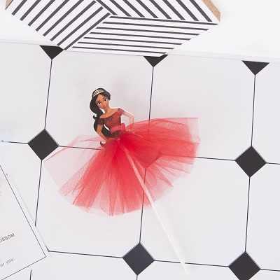 4 X трикотажное платье принцессы для торта в стиле деко София/Рапунцель/elena of avalor Cupcake