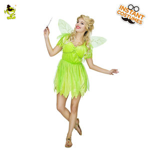 Image 2 - New Lovely Fairy Costumes Adults Womens Carnival Party Elf Role play Summer Dress Princess Costumes