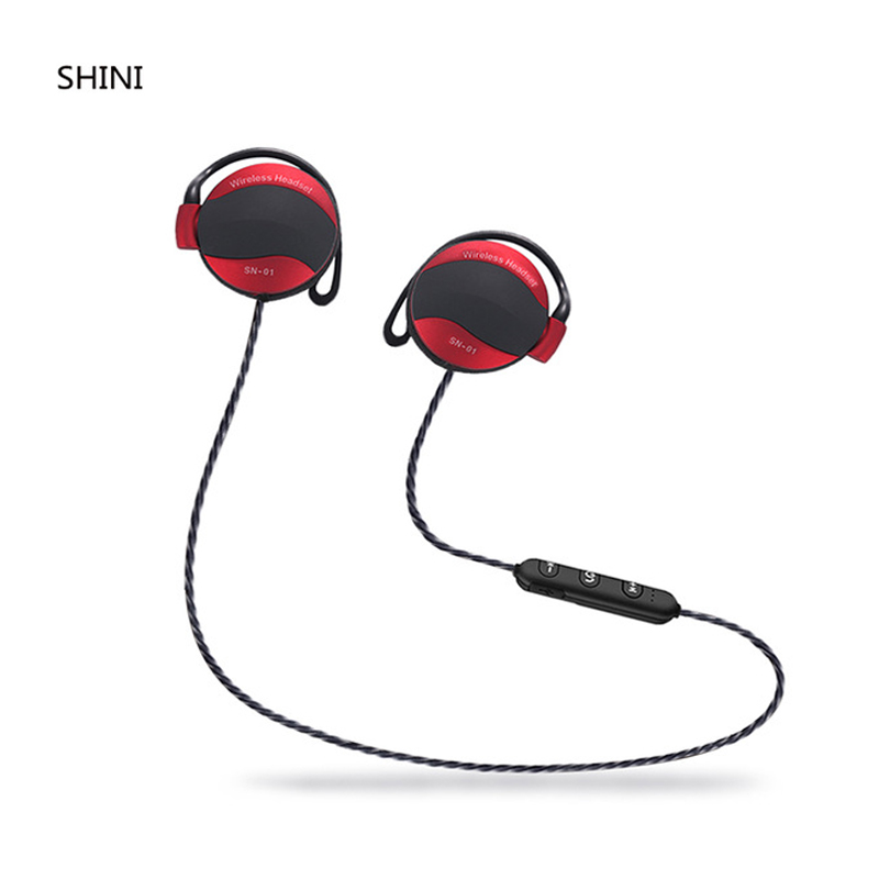 Bluetooth Earphone Wireless Headphone Bass Headset Fone de ouvido For Phone Neckband Ecouteur Bluetooth V4.1 Free shipping jr u12 wireless bluetooth earphone sport swimming headphone stereo bass music headset with mic for iphone 7 htc fone de ouvido