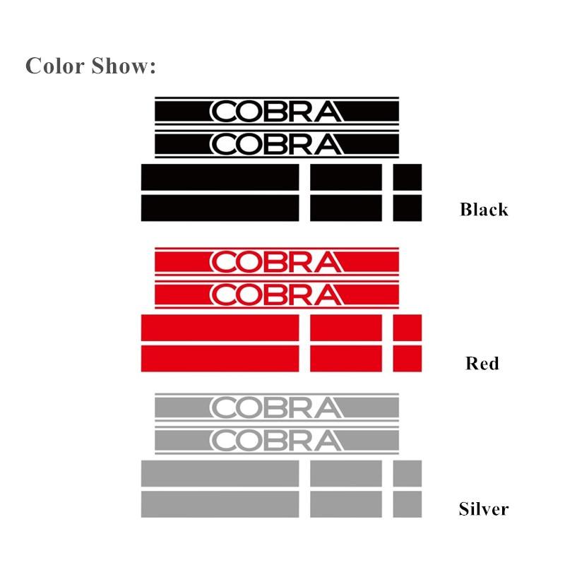 Автомобильный капот хвост Наклейки 3-5 двери боковые юбки полосы спортивный стиль Виниловая наклейка для Mini Cooper Cobra R R50 R52 R53 R56 R57
