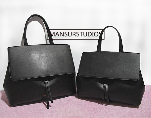 MANSURSTUDIOS classics shouder bag women genuine leather lady bag ,mansur lady real leather hand bag,free shipping