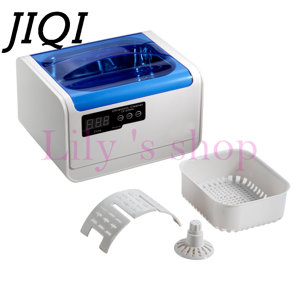 JIQI 1.4L Smart Ultrasonic cleaner Intelligent Digital ultrasonic Jewelry Glasses Circuit Board cleaning machine Bath 110V 220V free shipping da 968 220v stainless steel dual 30w 50w ultrasonic cleaner machine with display for jewelry glasses circuit board
