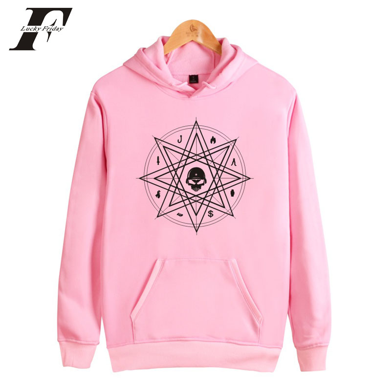 LUCKYFRIDAY hip hop Men/women Warface hoodies fmoletom masculino 2017 warface game Hoodi ...