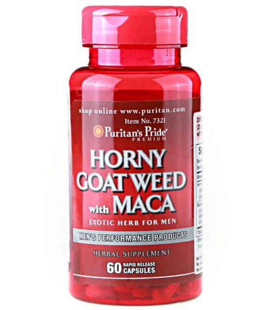 Us 17 0 Usa Horny Goat Weed With Maca 500 Mg 75 Mg 60 Capsules Free Shipping In Breast Enhancement Cream From Beauty Health On Aliexpress Com