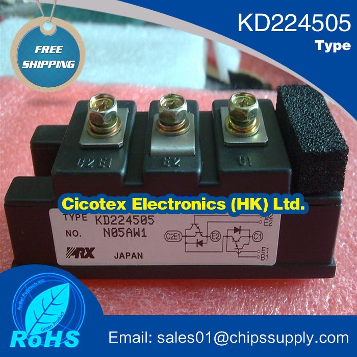 Active Components Integrated Circuits Kd224505 Igbt Dual Darlington Transistor Module 50 Amperes 600 Volts