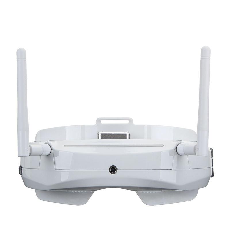 Skyzone SKY03 3D 5.8G 48CH diversité récepteur FPV lunettes avec traqueur de tête caméra avant DVR HD Port
