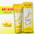 Hot Kiss Banana Flavor body lubricating oil male female of edible anal sex lubricant