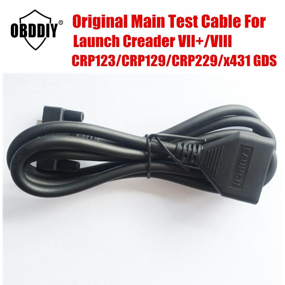 100% original de alta qualidade lançamento x431 cabo principal para creader vii +, viii, creader crp123, crp129, crp229, x431 gds cabo principal