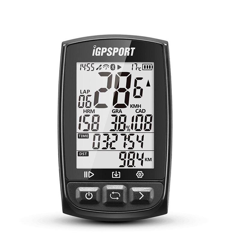 Я gps порт IGS50E gps Велоспорт компьютер Беспроводной IPX7 Водонепроницаемый велосипед цифровой секундомер Велоспорт Спидометр ANT + Bluetooth 4,0