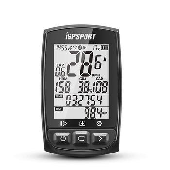 IGPSPORT IGS50E GPS licznik rowerowy bezprzewodowy IPX7 wodoodporny rower stoper cyfrowy prędkościomierz jazdy na rowerze ANT + Bluetooth 4 0 tanie i dobre opinie Wodoodporna stoper 53 5*85 8*22 mm Black White iGPSport S80 Out-front Mount pls leave the message about the cover color