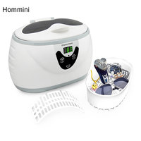 Hommini 3800S Ultrasonic Cleaning Machine Automatically Multi Function Jewelry Watches Cleaner Tool With LCD Screen Display