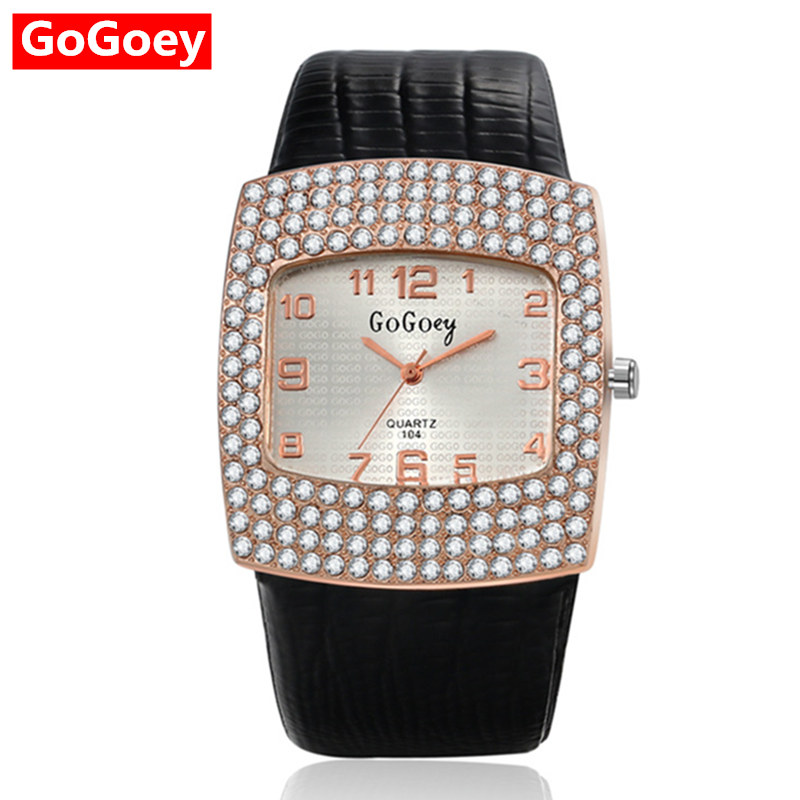 Full Crystal Watch Women Young Quartz Analog Watches Fashion PU Leather Casual Wristwatch Major relojes shine hot clock mujer стоимость