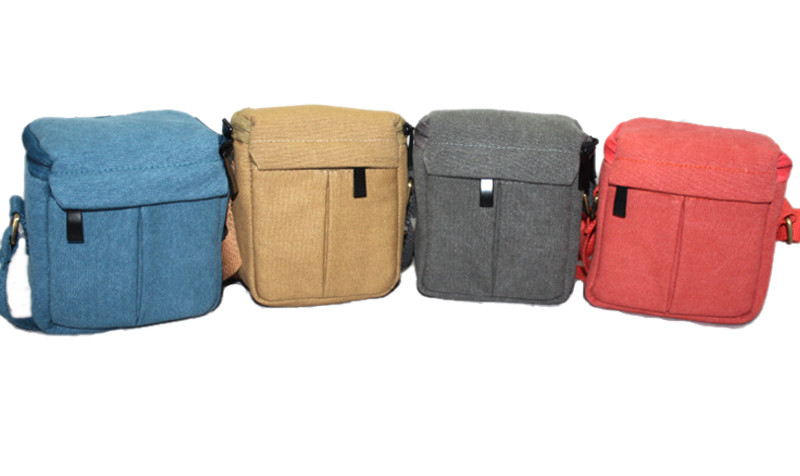 Universal Canvas Video Camera Soft font b Bag b font Case with Shoulder Strap for Sony