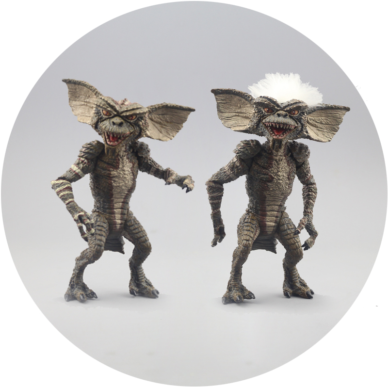 Free Shipping NECA The classic 7Gremlins princes Action Figure  PVC Out of print  Figure Toy Very good quality free shipping neca the terminator 2 action figure t 800 cyberdyne showdown pvc figure toy 718cm zjz001