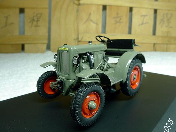 German SCHUCO 1:43 Schluter DS 15 (SCH3285) alloy tractor models Favorite Model premiumx 1 43 yuan bao 1968 volvo 164 rich 164 alloy models prd247