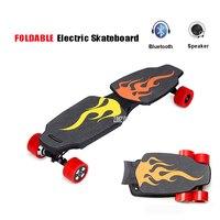 4 четыре колеса Boost Электрический скейтборд с дистанционное управление взрослых скутер комплект дерево лонгборд скейт доска Ховерборд ДВ