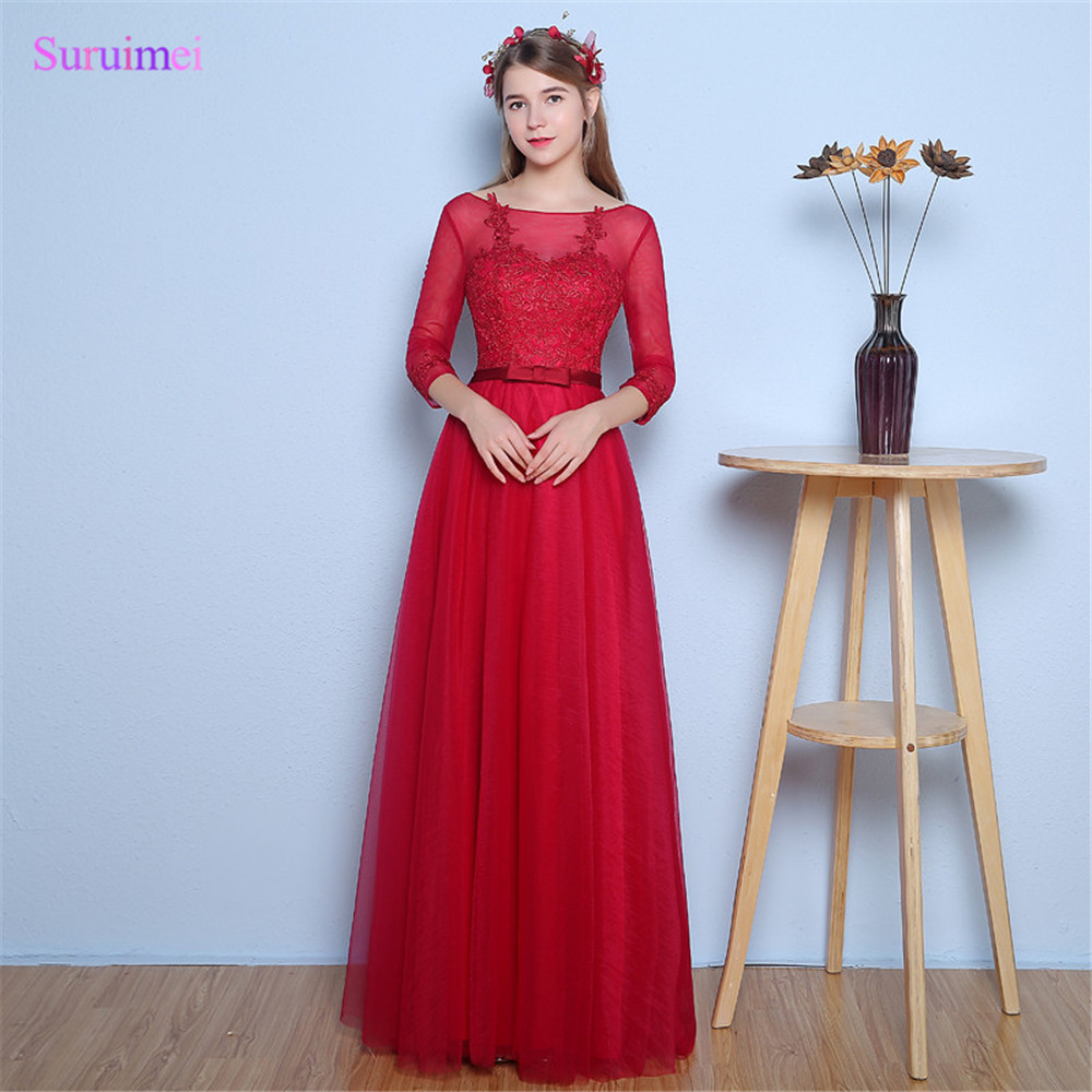 Watch - Red prom rose dress video