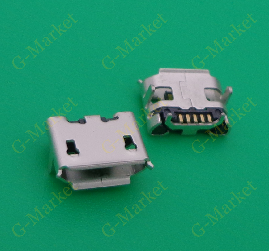 10 шт. микро мини USB разъем док-станция зарядный порт зарядное устройство синхронизации для ZTE Engage V8000 для Huawei Prism 2 U8686
