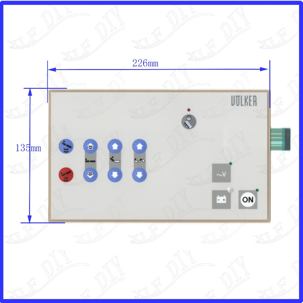 ZhiYuSun Kienzle Systems touchsensor glass New Touch Screen Replace for DOLKER Membrane key panel 226mm*135mm zhiyusun for iq701 new 8 inch touch screen panel touch glass this is compatible touchsensor 124 5 173