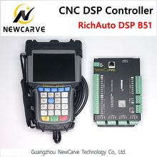 RichAuto DSP B51 USB CNC Controller B51S B51E 3 Axis Controller for CNC Router Control Replace DSP B51 Manual NEWCARVE стоимость