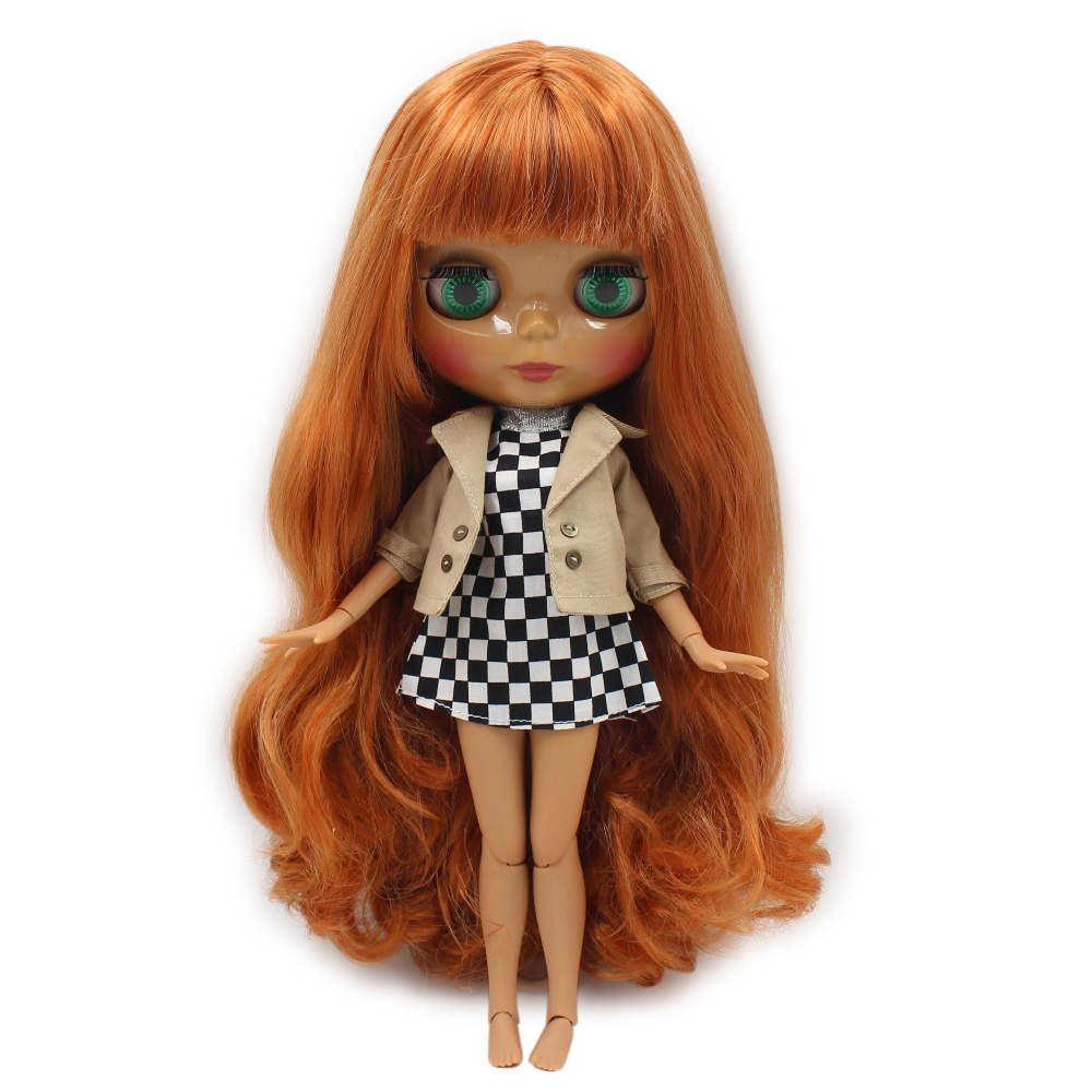 Careful Icy Doll Small Breast Azone Body Fortune Days Bl232 Red Brown Hair No Bangs 30cm Toys & Hobbies Dolls & Stuffed Toys