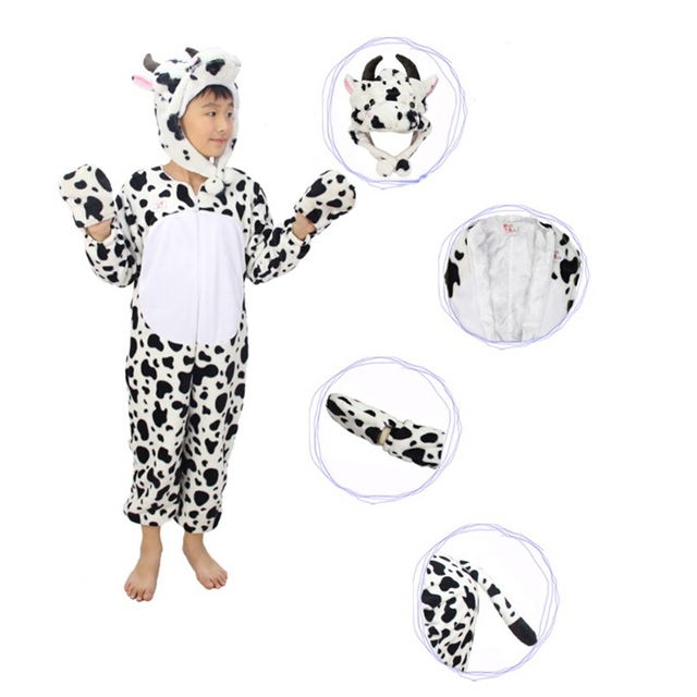 Cow Costume Cosplay For Kids Halloween Costumes Clothing for Children Kids Girls Boys  sc 1 st  AliExpress.com & Cow Costume Cosplay For Kids Halloween Costumes Clothing for ...