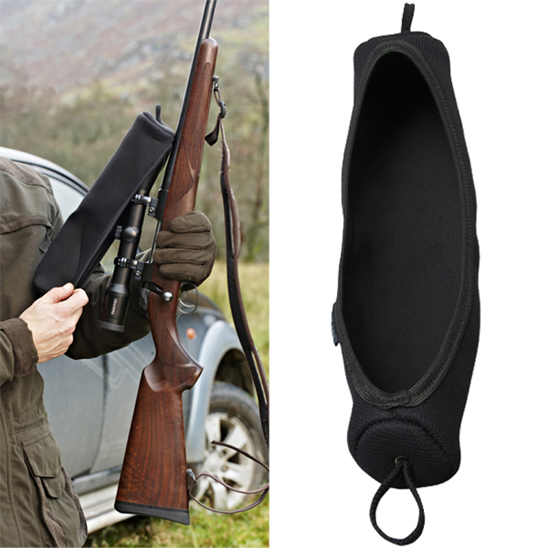 Tourbon Hunting Gun Accessories Large Size Neoprene Rifle Scope Cover For Optical Sight Hunting Shooting 34.5CM